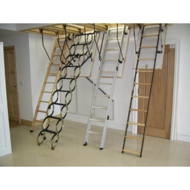 Типы и сравнение чердачных лестниц